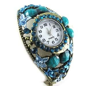 "Diseñador del reloj ""Bohemian Rhapsody""turquesa."