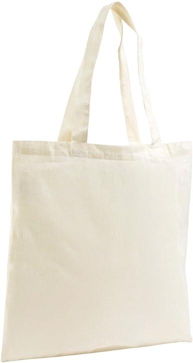 SOLS - Bolsa para la compra estilo Tote de algodón orgánico (Talla Única) (Carne): Amazon.es: Ropa y accesorios