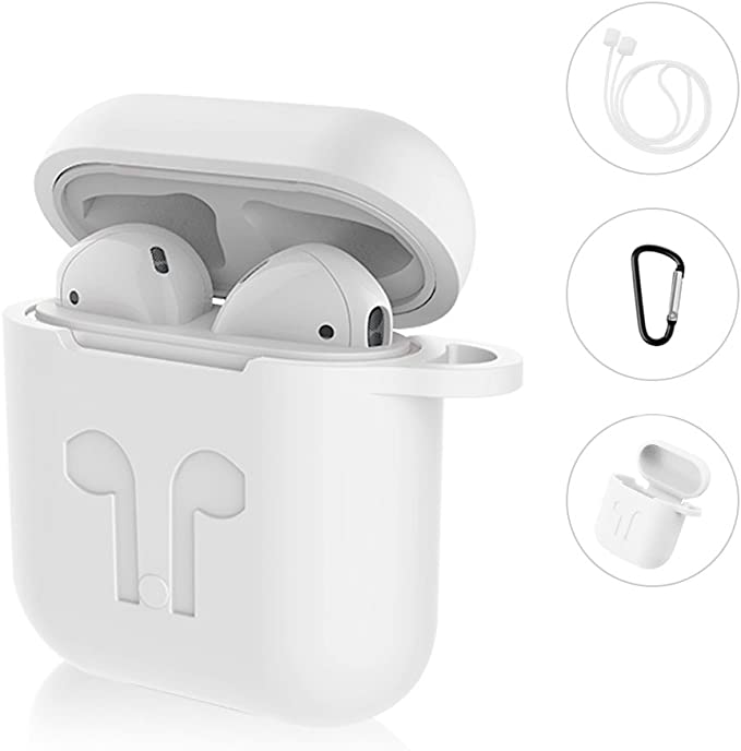 98 opinioni per SYNERKY Custodia Case para AirPods Apple Silicone Case, Skin Case with Sport