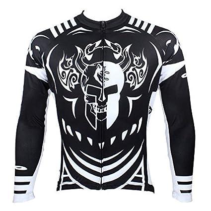 e32a331cf PaladinSport Men s Knight Long Sleeve Mountain Bike Clothing Top Asian Size  S