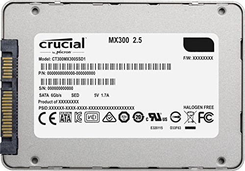 Amazon Com Crucial Mx300 525gb 3d Nand Sata 2 5 Inch Internal Ssd