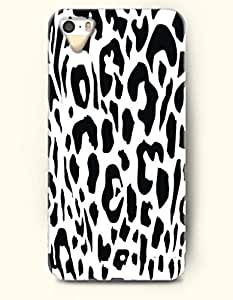 iPhone 5/5S Case, SevenArc Phone Cover Series for Apple iPhone 5 5S Case (DOESN'T FIT iPhone 5C)-- Black And White...
