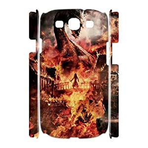 AKERCY The Hobbit Phone 3D Case For Samsung Galaxy S3 I9300 [Pattern-2]