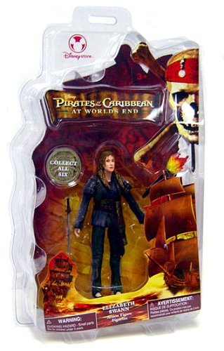 Pirates of the Caribbean At World's End Disney Exclusive Action Figure Elizabeth Swann - Elizabeth Swann At Worlds End