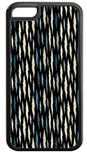 Modern Ikat Pattern Print Design Tm Hard Black Plastic Case For The Apple Iphone 6 Plus  6S Plus Universal Made In The U S A  Not Compatible With The Standard Iphone 6 Or 6S  Assorted Patterns