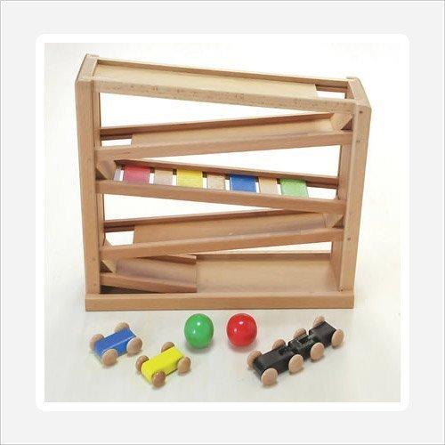 Daiwa suspension bridge mini coaster by Wooden toys Daiwa