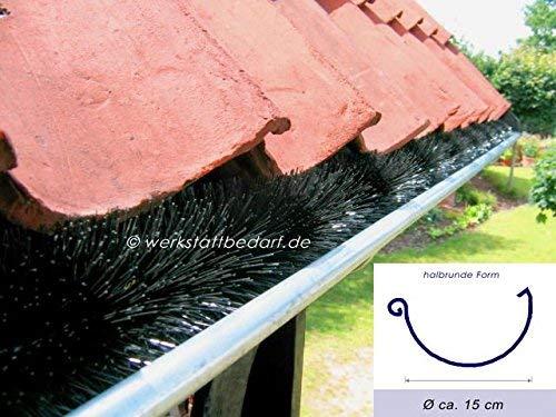 Dachrinnenb/ürste 5 Meter /Ø 5cm direkt vom Hersteller