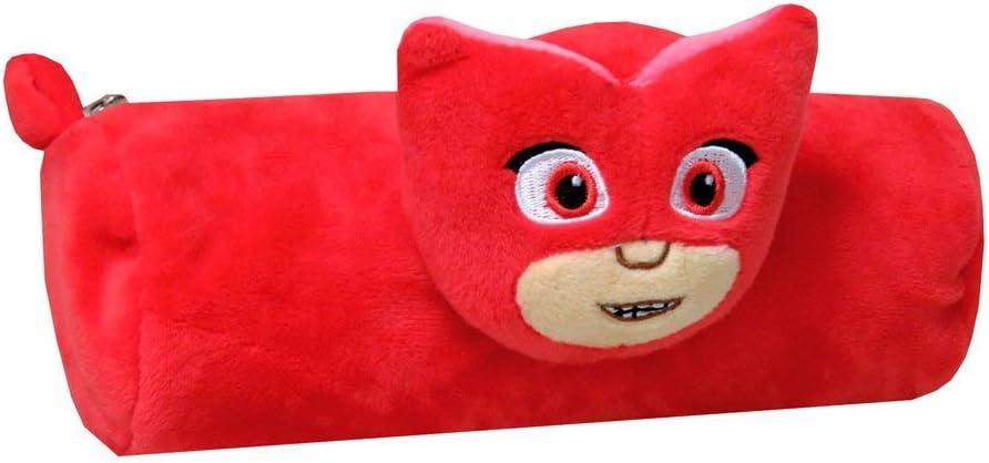 PJ Masks - Portatodo Peluche 3D 22 cm buhita PJ Mask: Amazon.es ...