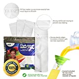 Frozip 125 Disposable Ice Popsicle Mold Bags| BPA