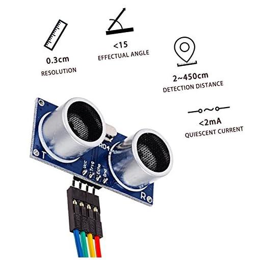 Arduino Distance Sensor UNO Nano Robot XBee ZigBee with Ultrasonic Transmitter and Receiver Module Longruner 5 x HC-SR04 Ultrasonic Sensor