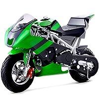 Go-Bowen Mini Gas Pocket Bike On 40cc (Green)