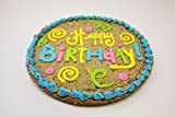 Triolos Bakery Happy Birthday Chocolate Chip Cookie Cake 12""