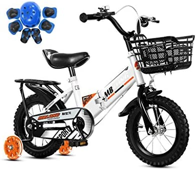 SONG Bicicleta para niños Plegable Bicicleta Portátil Bicicleta De ...