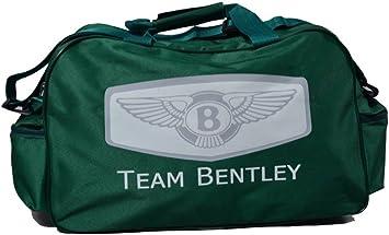 Team Bentley Logo Sporttasche Leichte Seesack Reisegepaeck Duffel Wochenende Uebernachtung Taschen Fuer Reisen Sport Gym Urlaub Auto