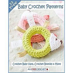 13 Free Baby Crochet Patterns