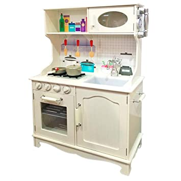 Tachan 7791168 Küche, Holz, Weiß: Amazon.de: Spielzeug