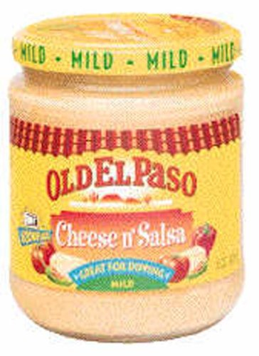 Old El Paso Cheese n Salsa Mild Dip - 12 pack