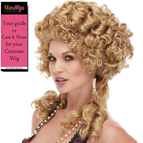 Marie Antoinette Costumes Design - Marie Antoinette Wig Color Honey Blonde