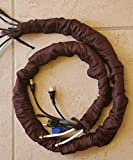 Cord & Chain Cover, 6.5 feet, Dupioni Faux Silk