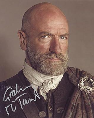GRAHAM McTAVISH as Dougal MacKenzie - Outlander GENUINE AUTOGRAPH