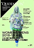 QUOTATION FASHION ISSUE VOL.21 2018-19AW