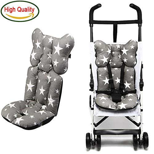 Stroller Cushion Seat Cover Baby Diaper Pad Seat Pad Cotton Baby Stroller Mat Mattress Pram Stroller Accessories (F) - Valco Baby Stroller Newborn