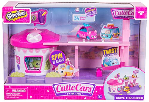 Shopkins Cutie Cars Drive Thru Diner Playset
