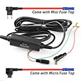 Pruveeo Hard Wire Kit for Dash Cam with 2 Fuse