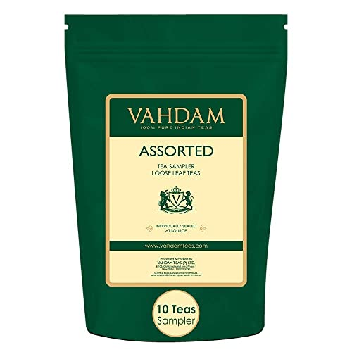 Vahdam, Assorted Loose Leaf Tea Sampler