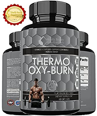 ***SALE*** HYPER 3 PHASE THERMO OXY BURN * Advanced Tri Phase Fat Busting Pills - Weight Loss Made Easy - Thermogenic & Lipogenic Blend - Added Raspberry Ketones & Green Tea Extract