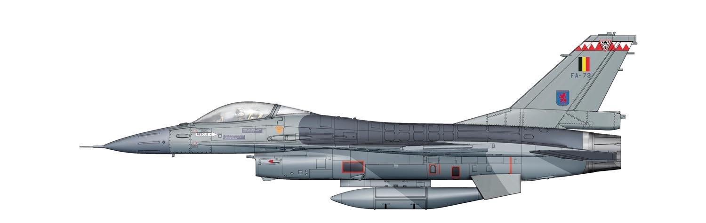 Hobby Master 1 72 HA3853 F-16AM Block 15 FA-117, Belgian Air Force, 2008 by Hobby Master