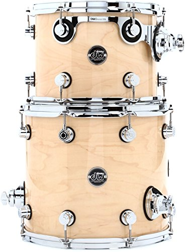 DW Performance Series 2-Piece Bop Tom Pack - Natural Lacquer