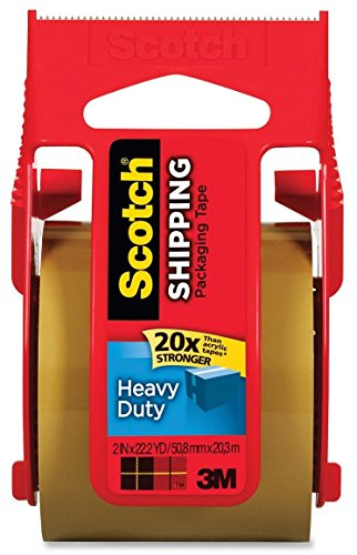 6 pack scotch packaging tape - 2