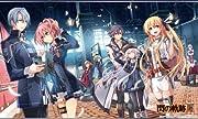 英雄伝説 閃の軌跡III 新生 <VII組> with アリサ オリジナルタペストリー Ver. 駅の風景