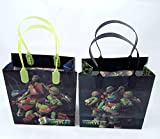 12pcs Teenage Mutant Ninja Turtles Tmnt Treat Bags Goodies Bags Party Favor Birthday Gift Bags
