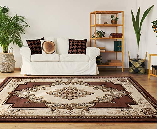 - United Weavers Bristol Fallon Chocolate Accent Rug 1'10 x 2'8