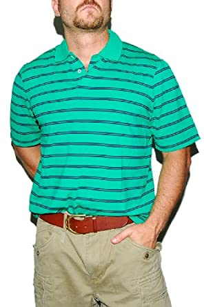 Ralph Lauren RLX Mens Golf Athletic Sport Gym Polo Shirt Green Black Stripe XXL at Amazon Men\u0026#39;s Clothing store: