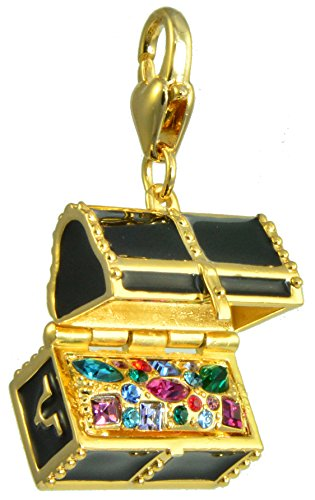 Disney Couture Tinker Bell Peter Pan Treasure Chest Charm