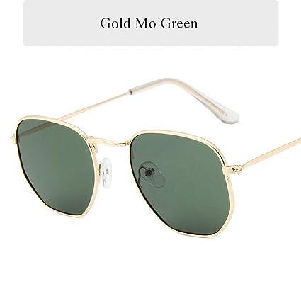 YSFU Gafas de sol Gafas De Sol Hexagonales Gafas De Sol De ...