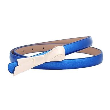 SHANYIN YD Fashiongen -Cinturón De Cuero De Falda Delgada Para ...