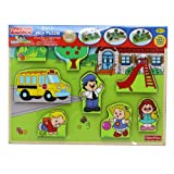 Fisher Price - Little People 2 in 1 Play Puzzle - Random