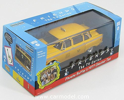 Phoebe Buffay's 1977 Checker Taxi Cab * Friends (The TV Series) * 2014 Greenlight Hollywood 1:43 Scale Limited Edition Die-Cast Vehicle