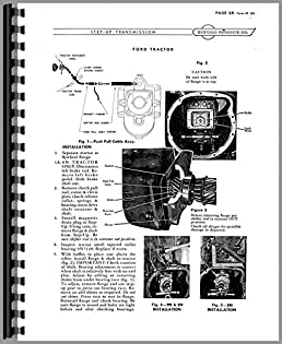 amazon com ford 9n sherman transmission service manual rh amazon com ford 9n tractor repair manual ford 9n owners manual free