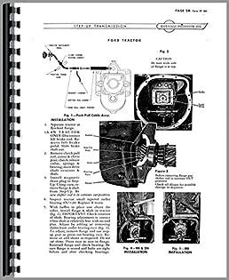 ferguson te20 sherman transmission service manual amazon co uk books rh amazon co uk massey ferguson te20 repair manual ferguson te20 owners manual