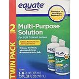 Equate - Multi-Purpose Contact Lenses Solution - 12 oz Each