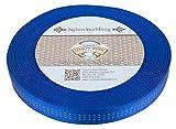 Country Brook Design1 Inch Royal Blue Climbing Spec Tubular Nylon Webbing