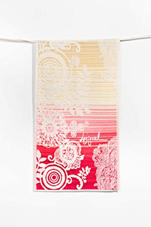 Desigual Towel Hands Essential Toalla de baño algodón Amarillo 50 x 100 cm: Amazon.es: Hogar