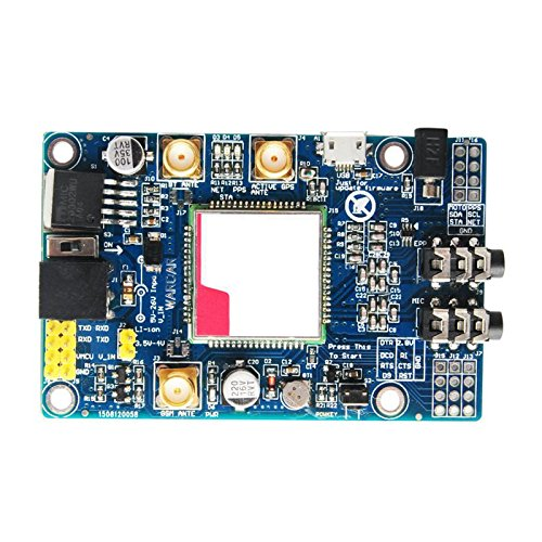 TOOGOO(R) SIM808 Module GSM GPRS GPS Development Board SMA With GPS Antenna for Arduino DP