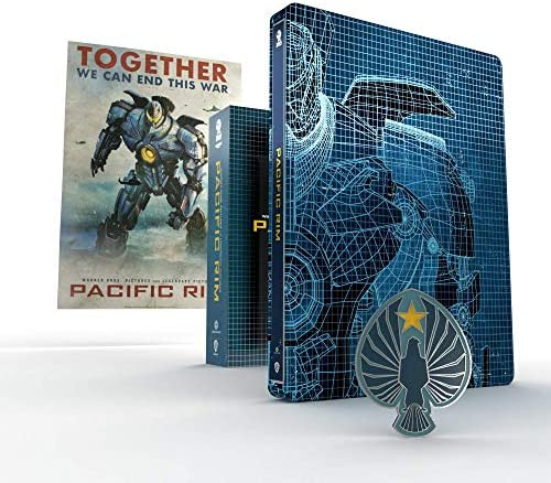 Pacific Rim Titans of Cult Steelbook [4K Ultra HD] [2013] [Blu-ray] [Region Free]