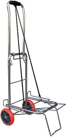 ZZZYZ Carretilla De Mano Pesca PortáTil para Escalera con Ruedas Carga 65 kg Carretilla Plegable para Entrega Almacenes Mercado Viajar Mudarse: Amazon.es: Hogar
